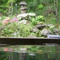 中庭温泉■