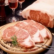 前沢牛イメージ♪ステーキがおすすめです。
