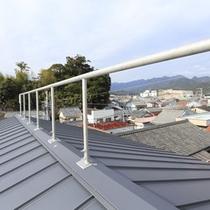 屋根の避難用手すり