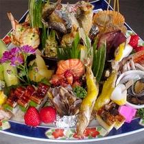 【皿鉢料理一例】