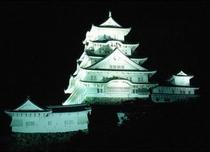 世界遺産「姫路城」夜景