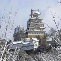 姫路城(冬)500