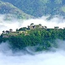 天空の城「竹田城跡」