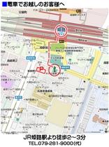 徒歩用アクセスマップ