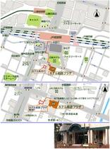 アクセスマップ拡大地図