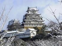 姫路城(冬)600