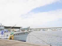 【標津漁港】すぐ近くには漁港があります。
