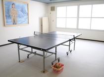 【卓球室】30分300円でご利用いただけます。寛ぎの間に是非。