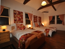 Latata House寝室