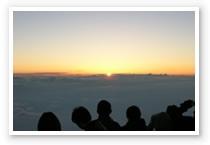 富士山のご来光