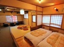 居間・寝室分離の新和洋室(Bタイプ特別室)