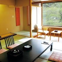 【標準和室10畳】筑波山側のお部屋