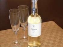 白ワイン ペルレ 国産ワインコンクールで金賞を受賞した安曇野ワイナリーのワイン。微発泡の辛
