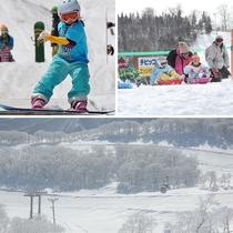 <スキーパックプラン特典>夏油高原スキー場リフト1日券付!
