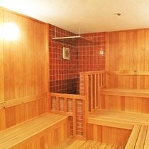 ホテル紅葉館大浴場のサウナ