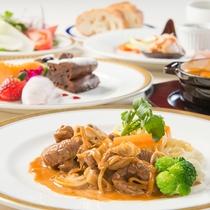 洋食お値打ちコース ※3月までの料理イメージ