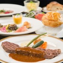 洋食お値打ちコース ※10~12月の料理イメージ