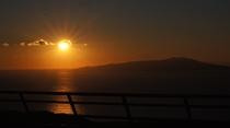 見渡す海と島そして朝日は最高