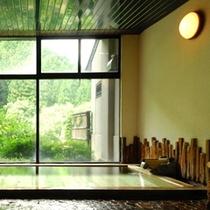 古代檜風呂(男性内湯)