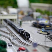 ファン必見!JR水上駅をイメージしたNゲージのジオラマ