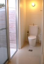 コテージのトイレ