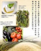 新鮮な野菜を使っています♪