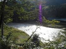 「おくたま路」散策路からの多摩川