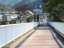 「おくたま路」を一望できる好文橋
