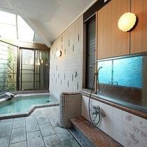 貸切風呂 翌朝5時から男女別に替わります 月の恋心の施設になります