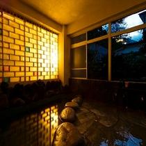 カップルに圧倒的な人気がございます。通称カップル貸切風呂。□喜春荘の貸切風呂