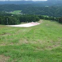*【人工ゲレンデ】夏場のスキートレーニングに最適!