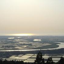 *【眺望】庄内平野を一望!美しい景色をお楽しみ下さい。