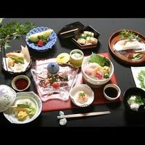 【煮物×穴子寿司×天麩羅】山一別館旬彩会席