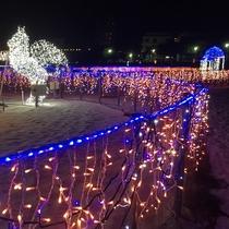 白良浜イルミネーション「白砂のプロムナード」12月~2月末まで♪
