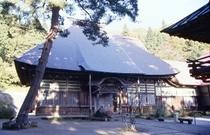 野沢菜発祥の寺「健命寺」本堂