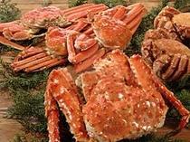 3種類の蟹(カニ)食べ比べ