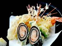 天ぷら盛り合わせ例