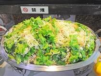 【朝食一例】サラダで栄養バランスもばっちり☆
