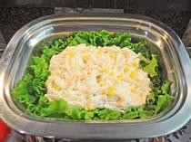 【朝食一例】マカロニサラダもございます♪