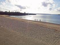 【パイナガマビーチ】夕食前にふらっと立ち寄るのもオススメです♪