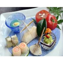 夏の夕食(一例)