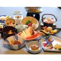 季節の会席料理(10月料理一例)