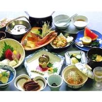 季節の会席料理(10月一例)