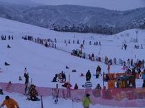 スキージャム勝山のビキッズゲレンデ(当館より車で1時間)
