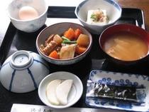 日替わりの和朝食