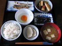 日替わりのある日の朝食