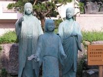 江〜戦国の姫たち〜三姉妹像