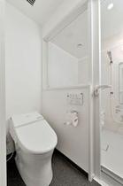 【バスルームから独立した トイレ】 (シングル)