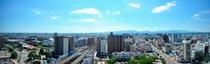 宮崎市内を一望するホテルからの眺望(南側)
