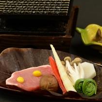 スタンダード&Aプラン豚ロース網焼き(9月~11月)